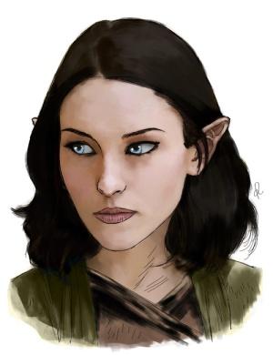 Noelle, a bladesinger