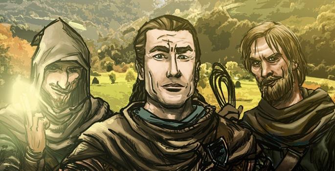 Soren, o líder e Jolrael