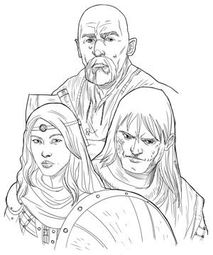 Slade, Sabinne e Crassus